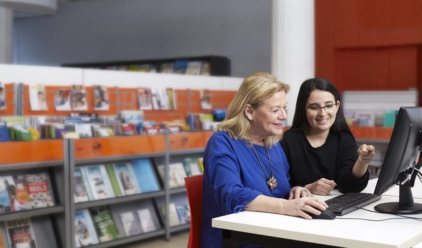 Aangifte doen in de bibliotheek. Het kan binnenkort in Veenendaal.