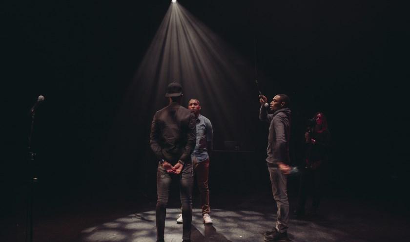 Spoken Awards 2017 met artiesten Brandon Taylor en Charlie Dichter en presentator MCJR (Jermaine Berkhoudt)