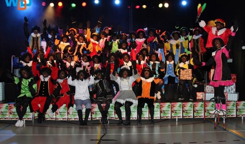 Het Mega Pieten Festijn in Westerhaar was vorige week een mega feest.