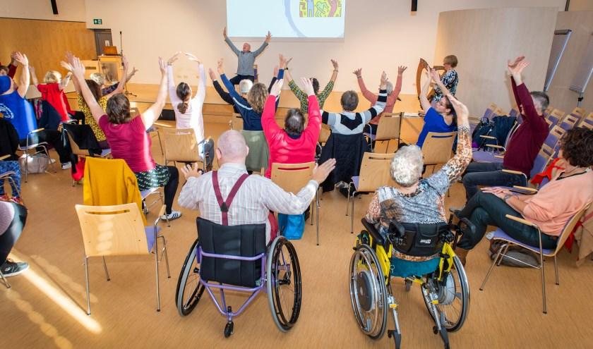 Jong of oud: iedereen kan deelnemen aan de dansworkshop.