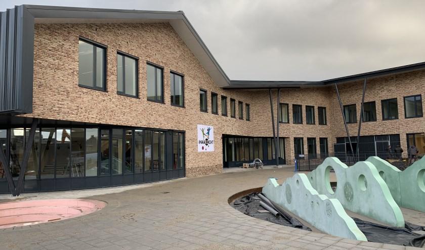 Een prachtige moderne nieuwe basisschool.