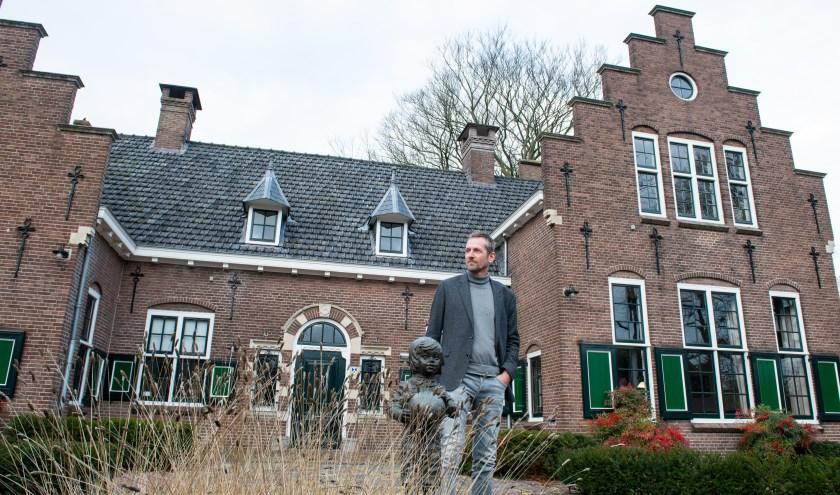 Erwin van Andel, de nieuwe voorzitter van de stichting Kulturhus EGW in Epe wil woord van dominee Prins uitdragen. Foto: Dennis Dekker