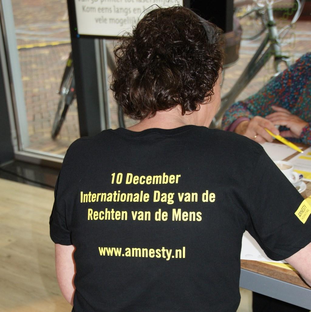 Internationale dag van de rechten van de mens Foto: Barbara Mojet © DPG Media