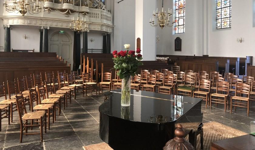 Een samenzang en orgelconcert