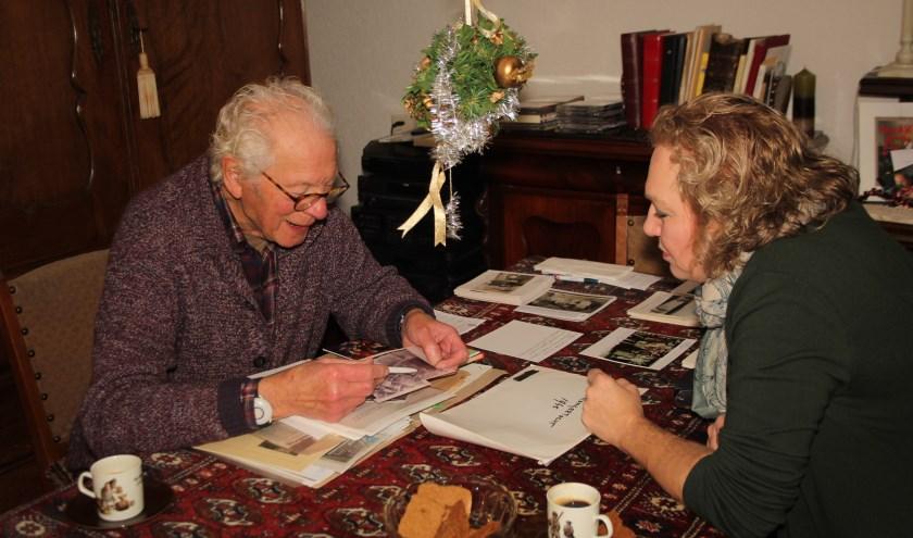 Bep Murk vertelde heel wat IJsselsteinse verhalen uit de Tweede Wereldoorlog aan Anastasia van der Lugt. (Foto: Lysette Verwegen)
