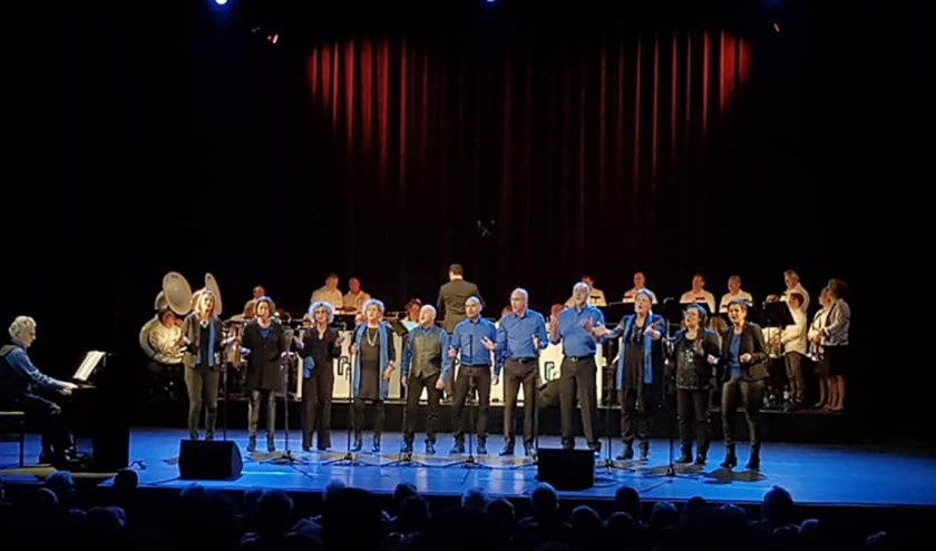 Pro Patria en CSE tijdens Passie-voor-Muziek in Kunstmin. Foto: CSE