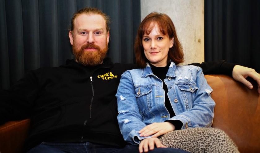 Milan van Weerden en Fabiënne Dallau spelen in de nieuwe Storytellersproductie 'Jeckyll & Hyde' Foto; Robbert Roos