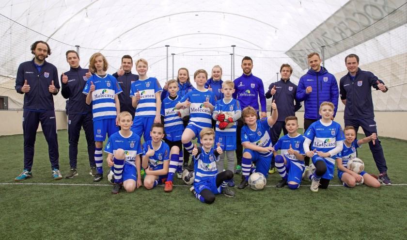 PEC Zwolle United verzorgt in samenwerking met Stichting Empower speciaal voor deze kinderen wekelijkse trainingen. (foto: PEC Zwolle United / Theo Smits)