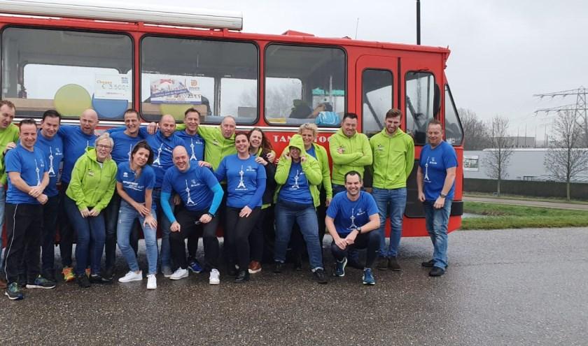 Het Roparun Team uit Alblasserdam. (Foto: pr)