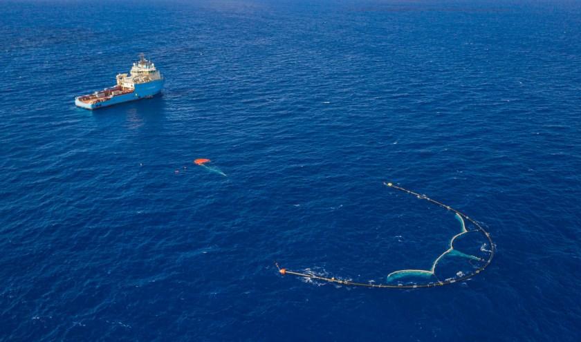 Foto beschikbaar gesteld door The Ocean Clean Up.
