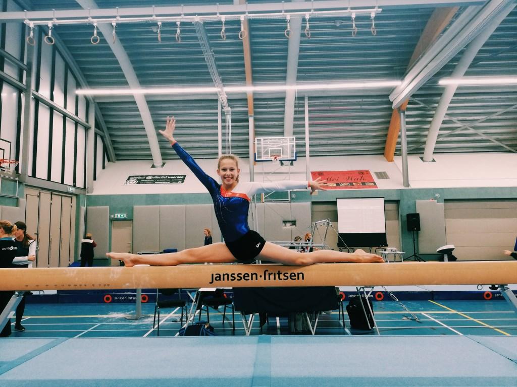 Jessie Kooter op de eerste plaatsingswedstrijd. Foto: Annoeska Hameete © DPG Media