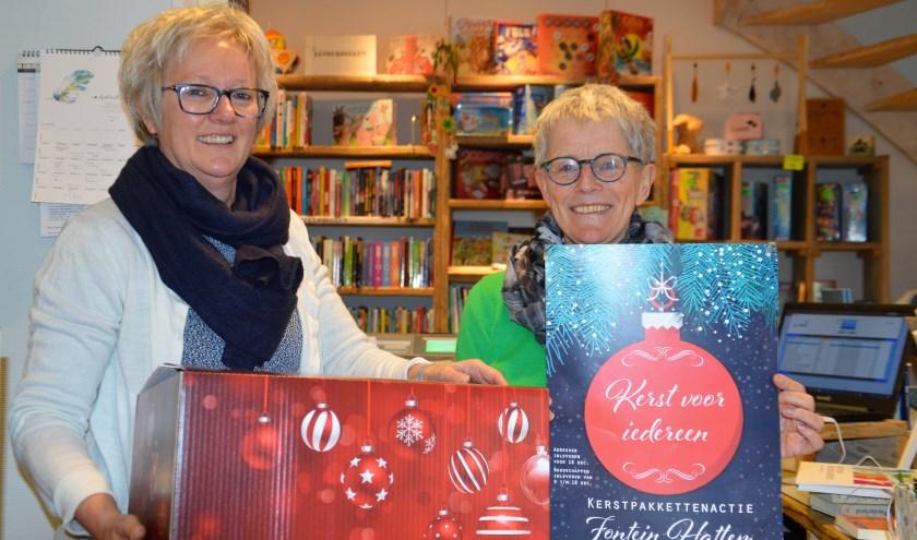 De Fontein organiseert ook dit jaar weer een kerstpakkettenactie