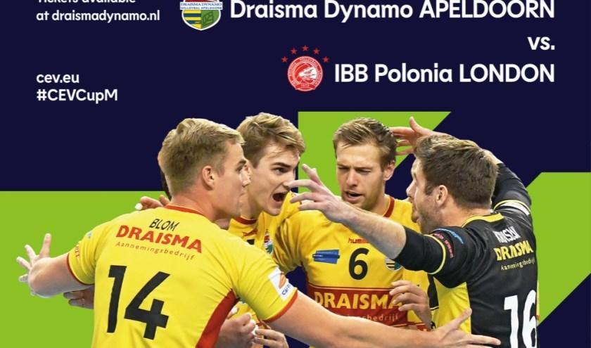 Poster CEV Cup Draisma Dynamo - IBB Polonia