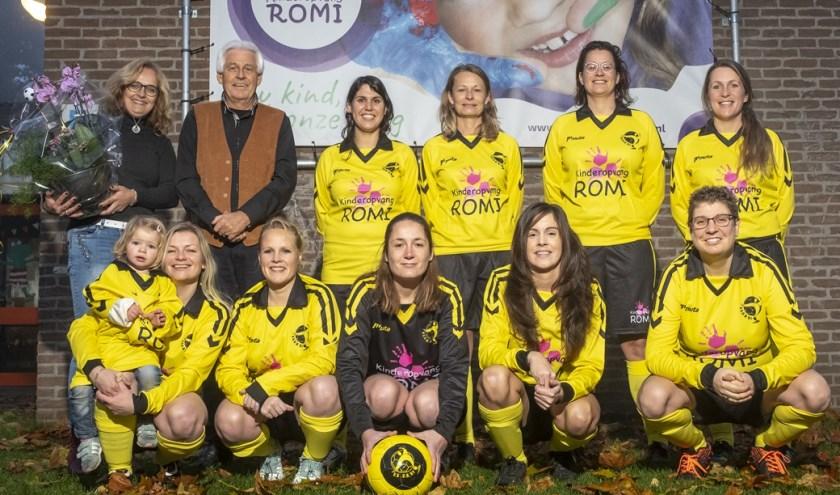 Vrouwen 30+ op bezoek bij sponsor Kinderopvang ROMI.