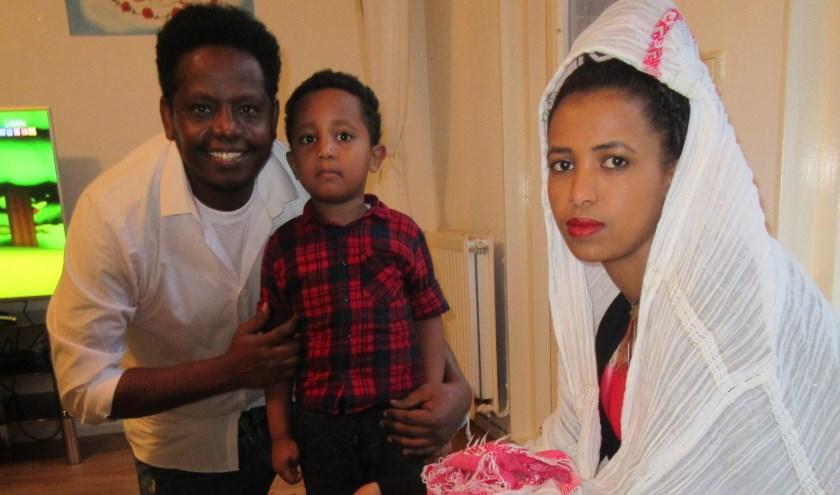 Daniël en zijn gezin gaan een prachtige kerst tegemoet.