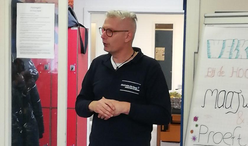 Wilco Diemel (Teamleider Werkvisie De Hoop), onze nieuwe samenwerkingspartner.