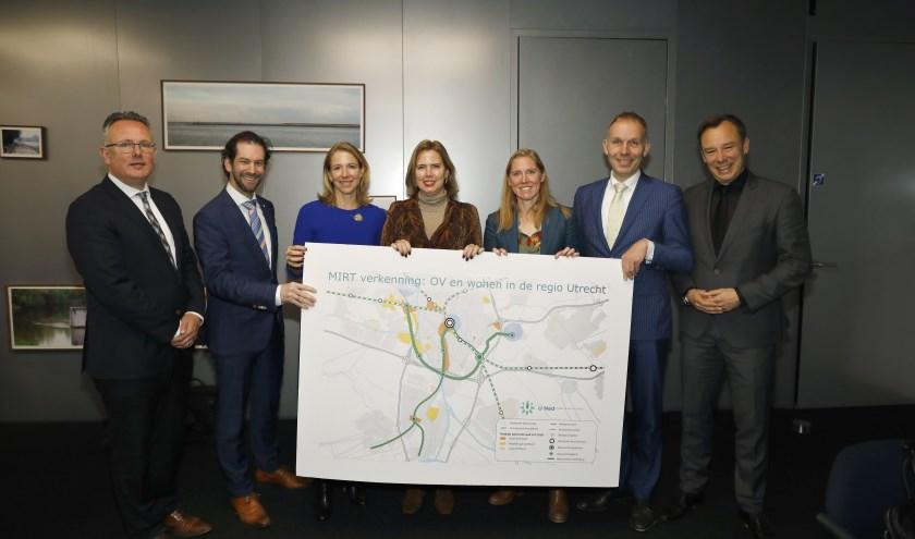 Het Rijk, provincie Utrecht, gemeente Utrecht en vijftien omliggende gemeenten verkennen maatregelen voor het OV. Foto: Wiebe Kiestra
