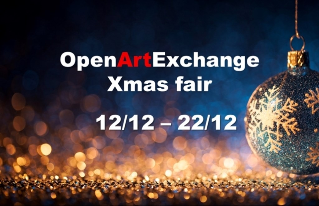 In aanloop naar kerst houdt OpenArtExchange een Xmas Art Fair.  © DPG Media