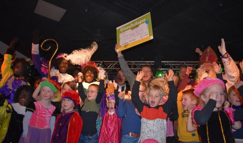 Grote blijdschap na de bekendmaking van het bedrag voor Stichting Kans voor een Kind: maar liefst 5114,50 euro!