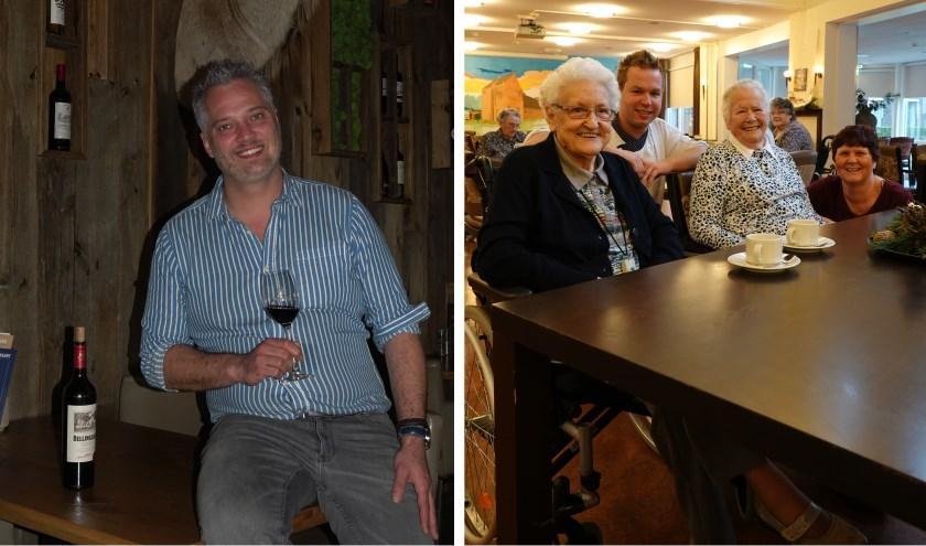 Jeroen van Doorn, eigenaar van restaurant Dukdalf in Kerkdriel (links) en Arnaud van de Pol en Marita van Dalen, beide werkzaam bij zorgcentrum 't Slot in Gameren, moeten alle drie werken met kerst.
