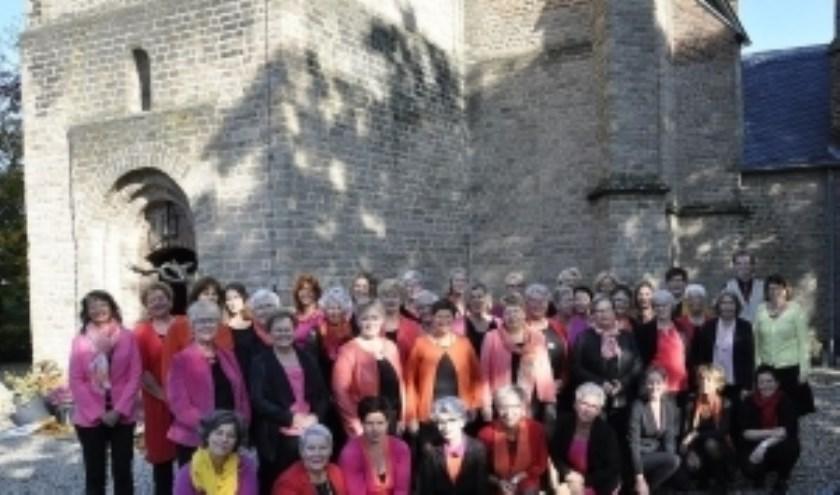Vrouwenkoor Con Brio uit Etten werkt mee aan het kerstconcert in Zeddam.