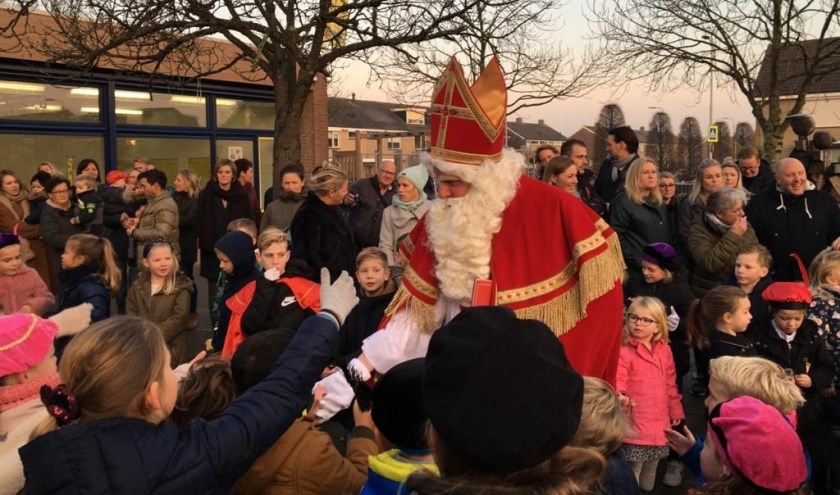 Sinterklaas ook op de Willibrordusschool