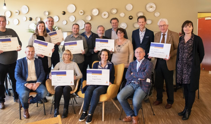 Uitreiking cheques 2 december 2019