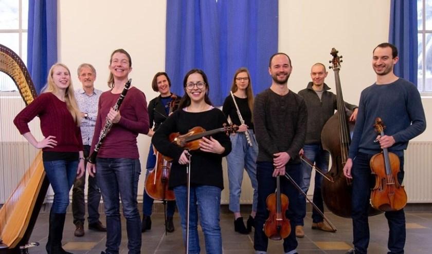 Het Ebony Ensemble. Foto: Alphamotions