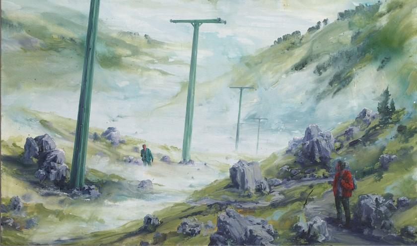 Een deel uit een werk van Sven Kroner uit 2004. Collectie Museum Helmond