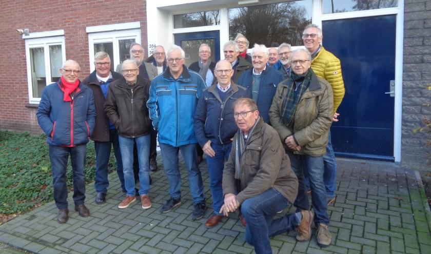 Reünie Eerste leerlingen bouwplaats in Nederland.
