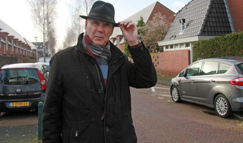 Enrico Mulder is gedeeltelijk opgegroeid in Laakkwartier en heeft daar een heel gelukkige jeugd gehad (Foto: Peter van Zetten).