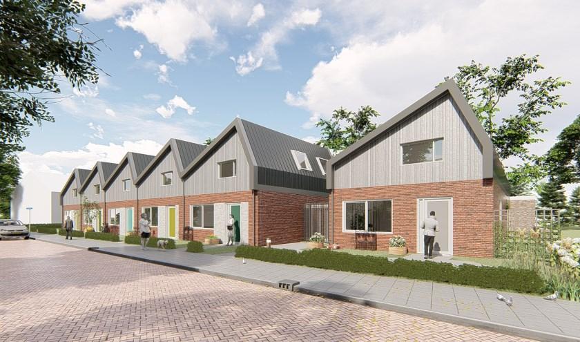 Een impressie van de te realiseren bebouwing 'Noabers Veldwijk Noord'. (Foto: PR)