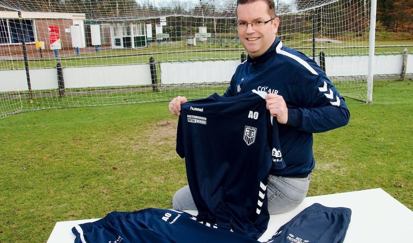 Miquel Wilpshof is trots op zijn club. Voor meer informatie over de donderdagavond trainingsgroep: m.wilpshof@outlook.com. (foto Gert Perdon)