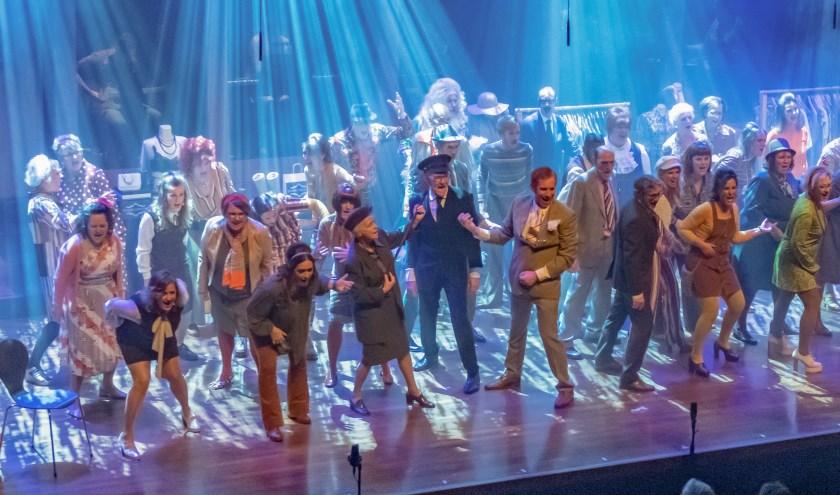The New Voices tijdens de show Be served with Magic in het najaar van 2019 in het Musiater.
