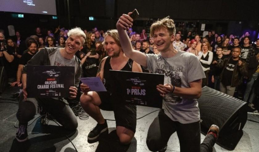 Winnaar Grote Prijs van Dordt Bands 2019: Charades. Foto: Danny van der Weck