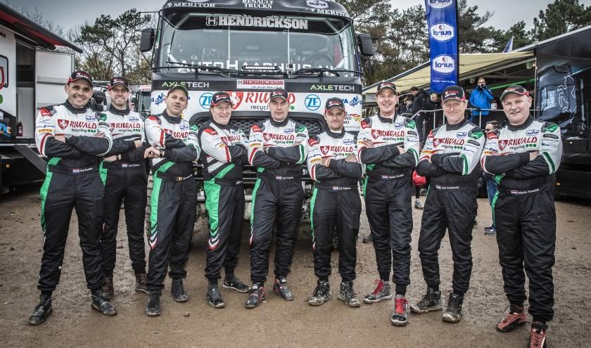 lle coureurs van het Riwald Dakar Team