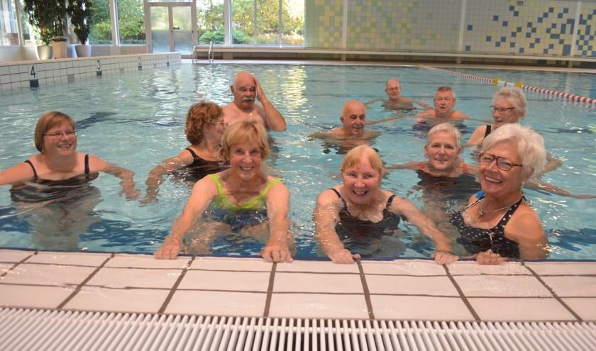 Het aantal deelnemers aan het zwemmen bij De Kolk groeit nog steeds. (Foto: Stichting Bevordering Gehandicaptensport Wierden)