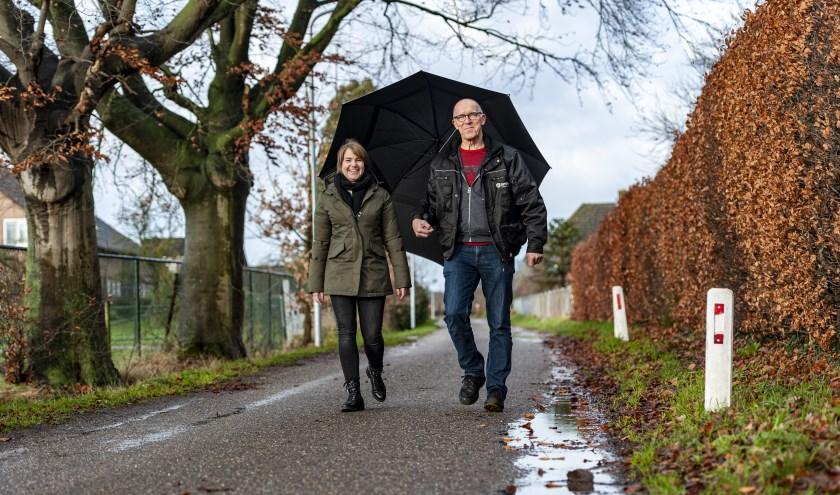 Na een geslaagde niertransplantatie zijn Maartje en Piet vrienden voor het leven geworden.