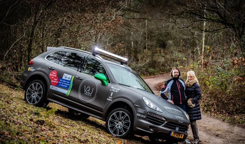De Rotterdamse Charlotte Vriezen gaat samen met haar vriend de ultieme uitdaging aan. (Foto: Maarten de Bruin)