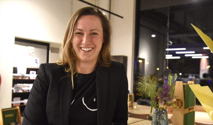 Malou Dusseldorp is de komende drie jaar  nachtburgemeester van Gouda. Foto: Marianka Peters