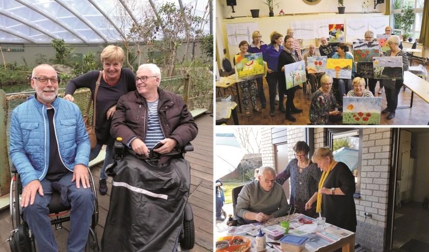 De activiteitengroep 40-65 jaar van De Zonnebloem De Liemers bestaat inmiddels tien jaar.