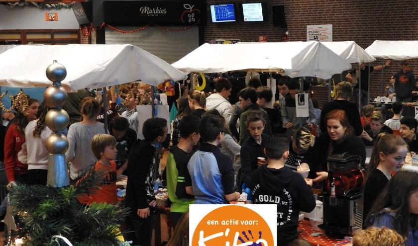 De markt vindt plaats op woensdag 18 december in de aula van het Kempenhorst College.