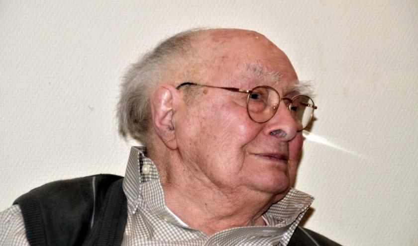 """Albert 'Opa' Slotboom: """"De mensen zullen verstandiger met de aarde om moeten gaan"""". (foto Jan Boer)"""