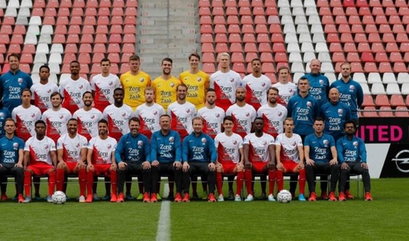 Het eerste elftal van FC Utrecht.