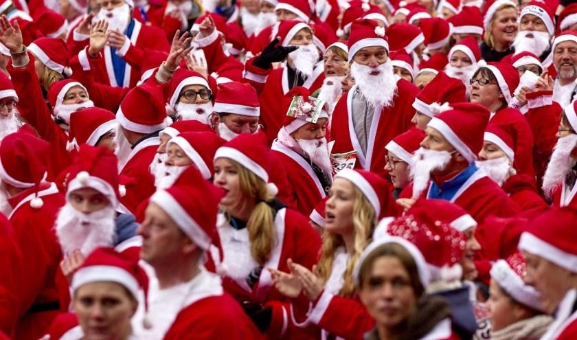 Rotaryclub Heeze organiseert komende zaterdag de 5e Santa Run voor het goede doel.
