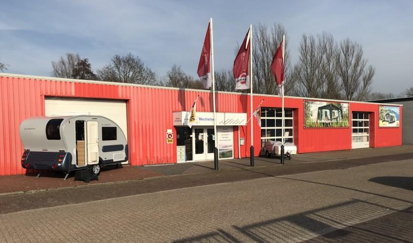 De vestiging van Mechielsen aan de Gildeweg in Vlissingen.