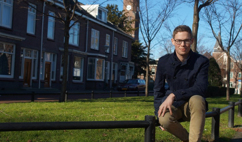 """De rode lijn in het leven van fractievoozitter CDA Woerden Job van Meijeren is maatschappelijke betrokkenheid. """"Bij het CDA kan ik mijn passie kwijt."""" FOTO: Winny van Rij"""