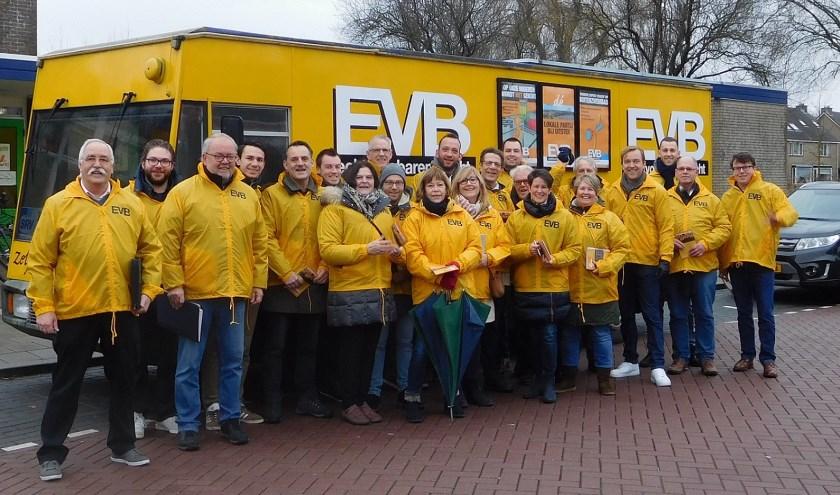 EVB trekt zaterdag de wijk weer in (Foto: PR)