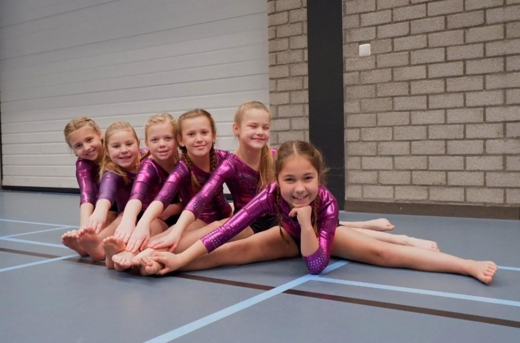 Bo, Dorinda, Imke, Maartje, Kiek en Esmée. Foto: M.C. van Verseveld © DPG Media