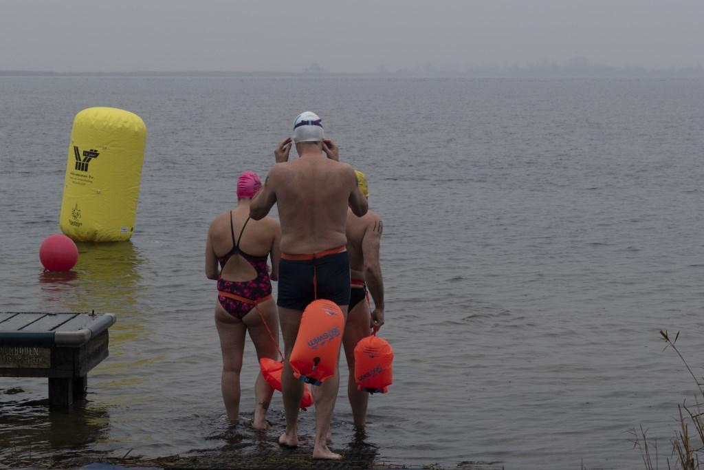 De deelnemers aan de 1000 meter. Foto: Karin Reine © DPG Media